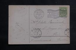 BELGIQUE - Affranchissement De Anvers Sur Carte Postale En 1908 Pour Paris - L 39825 - Belgique