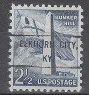 USA Precancel Vorausentwertung Preo, Locals Kentucky, Elkhorn City 807 - Vereinigte Staaten