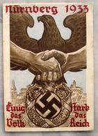D. Reich Ganzsache Reichsparteitag N.S.D.A.P. Nürnberg 1933 - Ganzsachen
