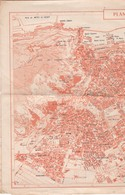 ALGERIE . Plan De La Ville D'ORAN En 29cm X 39cm (échelle 1/20.000) + Au Dos Carte Topographique Partielle Vosges (88) - Geographische Kaarten
