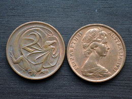 Australia 2 Cents (Elizabeth II) Km63 VF COIN CURRENCY RANDOM YEAR - Australia