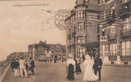 WESTENDE / WESTEND HOTEL EN ZEEDIJK 1912 - Westende