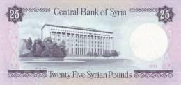 SY P. 102e 25 P 1991 UNC - Siria