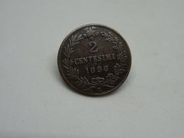 Moneta 2 Cent 1898 Umberto I Re D'Italia - 1861-1946 : Regno