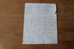 Revolution  Autographe  1796 Au Citoyen  Bourgoin  Directeur Des Service Arriéré à Bruxelles   Document D'epoque - Documenti Storici