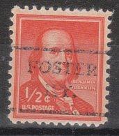 USA Precancel Vorausentwertung Preo, Locals Kentucky, Foster 716,5 - Vereinigte Staaten