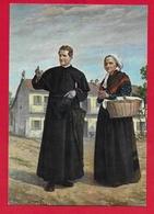 CARTOLINA VG ITALIA - DON BOSCO E Mamma Margherita A Valdocco - Casa Pinardi - 10 X 15 - 1961 - Saints