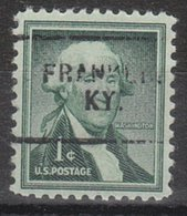 USA Precancel Vorausentwertung Preo, Locals Kentucky, Franklin 703 - Vereinigte Staaten