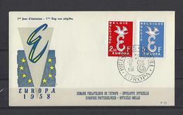Belgique: 1064/1065 Sur FDC - 1951-60