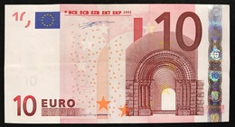 Olanda Netherland 10 € Duisenberg P P001B1 Circolato   Cod.€.268 - EURO
