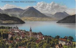AK 0303  Vitznau Mit Stanser- Und Buochserhorn ( Vierwaldstättersee ) Um 1928 - LU Luzern