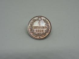 Moneta 1 Cent 1904 Vittorio Emanuele III Re D'Italia - 1861-1946 : Regno