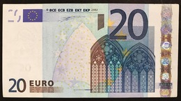 20 € FRANCIA DUISENBERG  U L019E2  Cod.€.269 - EURO