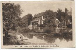 Olivet - Femme Au Bords Du Loiret - Le Moulins - Ed. L Lenormand - France