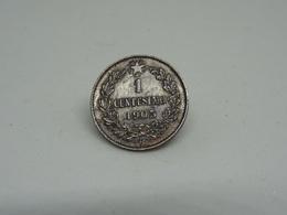 Moneta 1 Cent 1903  Vittorio Emanuele III Re D'Italia - 1861-1946 : Regno