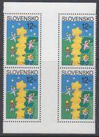 Europa Cept 2000 Slovakia  1 Phosphor Stamp  2x Gutter  ** Mnh (44288) - Europa-CEPT