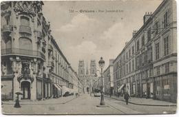 1916 Orléans -  Rue Jeanne D'Arc - Voir F DURRURES Et Autres - Ed. Th G - Orleans