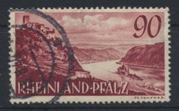 Besetzung Franz. Zone Rheinland Pfalz 41 Gestempelt Kat.-Wert 20,00 - Franse Zone