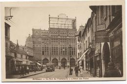 Orléans - La Rue De L'Hallebarde - L'Hotel Des Postes - A Voir Des Magasins - Ed. L Lenormand - Orleans