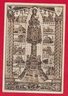 CARTOLINA VG ITALIA - Reliquiario Di San Domenico E Chiesa Della Provincia Lombarda - 10 X 15 - 1947 BOLOGNA - Luoghi Santi