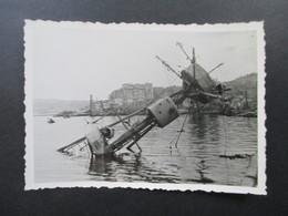 Das Eroberte Sewastopol 1942 Versenkte Kriegschiffe / Militärparade / Schiffe / Fahrzeuge Wehrmacht! Krim / Ukraine - Krieg, Militär