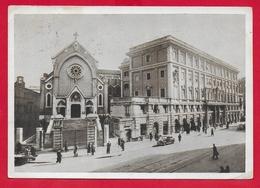CARTOLINA VG ITALIA - ROMA - Via Merulana - Chiesa Di S. Alfonso E Casa Generalizia Padri Redentoristi - 10 X 15 - 1955 - Chiese E Conventi