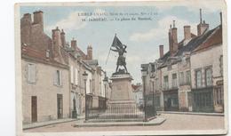 Jargeau La Place Du Martroi - Monument - Ed. Du Chocolat Poulain - - Jargeau