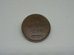 Moneta San Marino 10 Cent 1936 - Saint-Marin