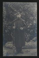 FOTOKAART VAN SOLDAAT IN 1914 - Weltkrieg 1914-18