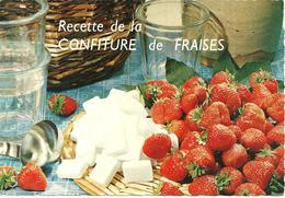 CPSM GF RECETTE DE LA CONFITURE DE FRAISES / EMILIE BERNARD - Küchenrezepte
