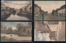 4 GELIMITEERDE POSTKAARTEN MECHELEN  - ZIE 2 AFBEELDINGEN - Mechelen