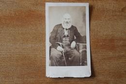 Cdv  Gabriel Miellin Vers 1860  Avec Autographe - Photos