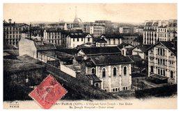 75 Paris - 14 ème -  L'hôpital Saint Joseph - Rue Didot - Arrondissement: 14