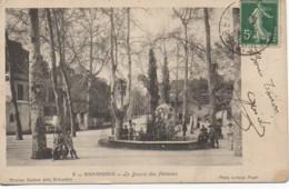 Algérie  BIRMANDREIS  Le Bassin Des Platanes - Alger