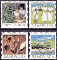 SAMOA 1987 «Christmas» Mi.# 626-29 MNH - Samoa