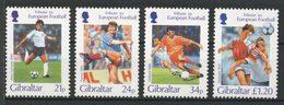 Gibraltar 1996 N° 768/771 ** Neufs MNH Superbes C 10 € Sports Football Allemagne France Pays Bas Danemark - Gibraltar