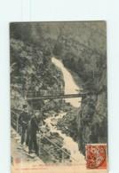 ROCHETAILLEE - Passerelle De La Cascade - Animée -  2 Scans - Rochetaillee