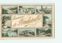 ROCHETAILLEE - SOUVENIR En 8 Vues -  2 Scans - Rochetaillee