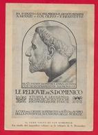 CARTOLINA VG ITALIA - Il Vero Volto Di S. DOMENICO - Padri Domenicani - BOLOGNA - 10 X 15 - 1947 BICOLORE - Santi