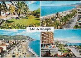 SALUTI DA PIETRA LIGURE - VIAGGIATA 1968 - Saluti Da.../ Gruss Aus...