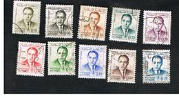 MAROCCO (MOROCCO)  -  SG 111.119  -   1962 KING HASSAN II   - USED ° - Marocco (1956-...)