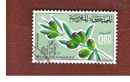 MAROCCO (MOROCCO)  -  SG 189  -   1966 OLIVES - USED ° - Marocco (1956-...)