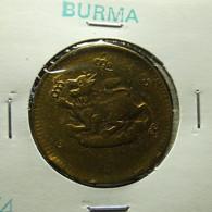 Burma 1/4 Pe 1878 Varnished - Myanmar