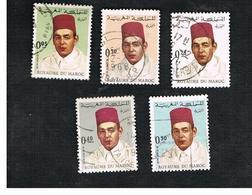 MAROCCO (MOROCCO)  -  SG 226.234  -   1968 KING HASSAN II  - USED ° - Marocco (1956-...)