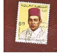 MAROCCO (MOROCCO)  -  SG 237  -   1973 KING HASSAN II 0,75  - USED ° - Marocco (1956-...)