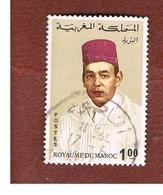 MAROCCO (MOROCCO)  -  SG 240  -   1968 KING HASSAN II  1 DH  - USED ° - Marocco (1956-...)
