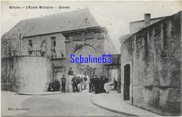 Billom - L'Ecole Militaire - Entrée - France