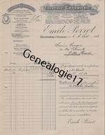 01 1462 BELLEGARDE SUR VALSERINE AIN 1912 Tannerie Corroierie EMILE PERROT Tissage Mecanique Cuir Au Chrome FOUET CHASSE - France