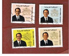 MAROCCO (MOROCCO)  -  SG 347.358  -   1973  KING HASSAN II   - USED ° - Marocco (1956-...)