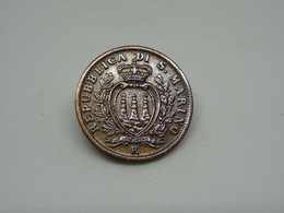 Moneta San Marino 5 Cent 1935 - San Marino